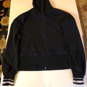 Lululemon Men's Zip Up Black Jacket, Large